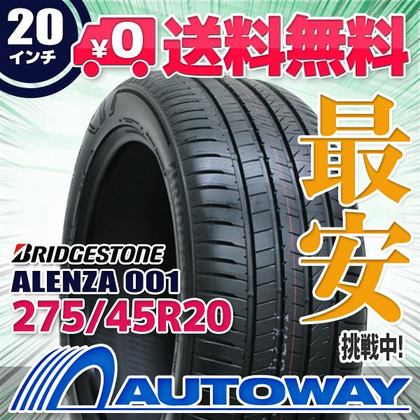BRIDGESTONE (ブリヂストン) ALENZA 001 275/45R20 【送料無料】 (275/45/20 275-45-20 275/45-20) サマータイヤ 夏タイヤ 単品 20インチ