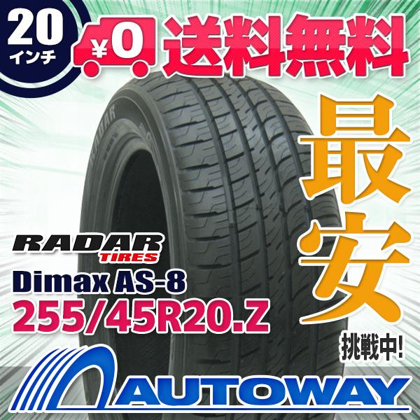 Radar Tires Dimax AS-8 All-Season Radial Tire 255//65R18 115H