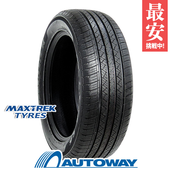 MAXTREK (マックストレック) SIERRA S6 225/55R19 【送料無料】 (225/55/19 225-55-19 225/55-19) サマータイヤ 夏タイヤ 単品 19インチ