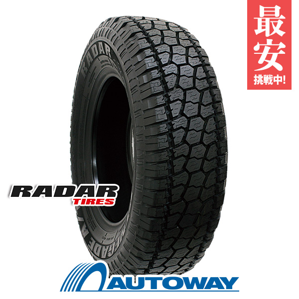 Radar (レーダー) RENEGADE AT-5 265/75R16 【送料無料】 (265/75/16 265-75-16 265/75-16) サマータイヤ 夏タイヤ 単品 16インチ