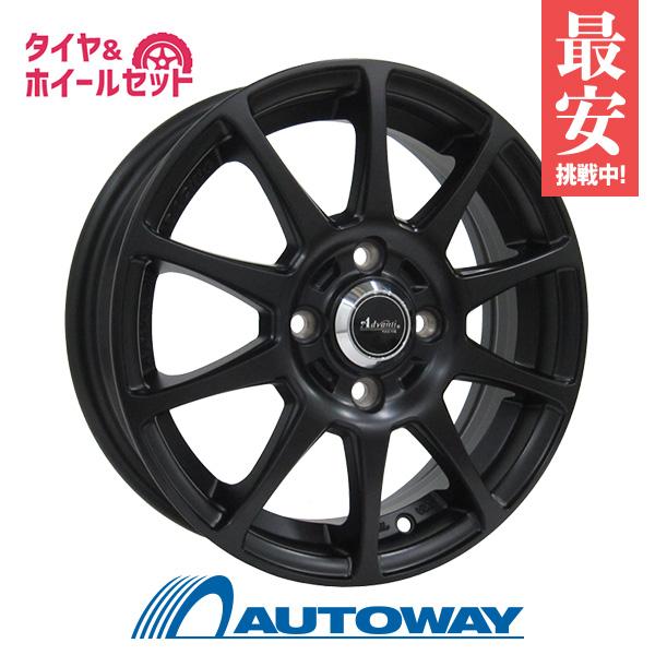 165/55R14 サマータイヤ タイヤホイールセット 【送料無料】Advanti ER-ADVANTI FALTIMA 14x4.5 +45 100x4 MB + HF201 (165-55-14 165/55/14 165 55 14)夏タイヤ 14インチ 4本セット 新品