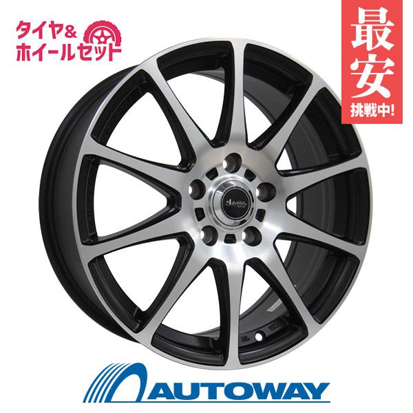 205/45R17 サマータイヤ タイヤホイールセット  Advanti ER-ADVANTI FALTIMA 17x7 +48 114.3x5 MBP + Rivera SPORT 【送料無料】 (205/45/17 205-45-17 205/45-17) 夏タイヤ 17インチ