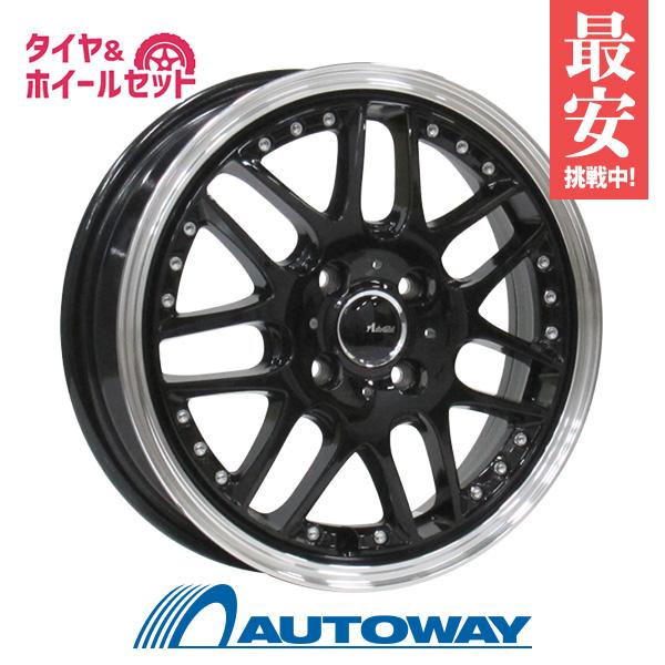 165/60R15 サマータイヤ タイヤホイールセットAdvanti CONCEPT-AG AG07M 15x4.5 +43 100x4 BLACK + FT-9 M/T RWL 【送料無料】 (165-60-15 165/60/15)夏タイヤ 15インチ