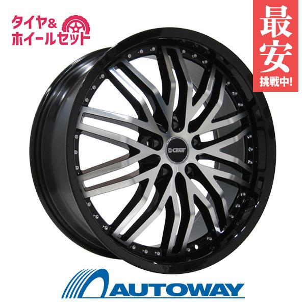 【送料無料】サマータイヤ 19インチ タイヤホイールセット?DCENTI RSW20 BLACK POLISH 19x9 +45 PCD114.3x5穴 ブラック&ポリッシュ 245/45R19 夏タイヤ