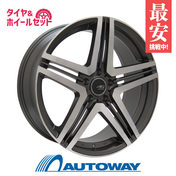 【送料無料】サマータイヤ 19インチ タイヤホイールセット?Advanti CONCEPT-AG J325 GMFP 19x8.5 +45 PCD114.3x5穴 ガンメタフルポリッシュ 235/35R19 夏タイヤ