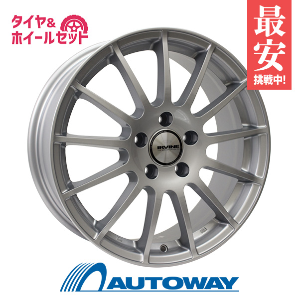 205/55R16 サマータイヤ タイヤホイールセット  weds IRVINE F01 16x6.5 +47 112x5 HS + NS-20 【送料無料】 (205/55/16 205-55-16 205/55-16) 夏タイヤ 16インチ