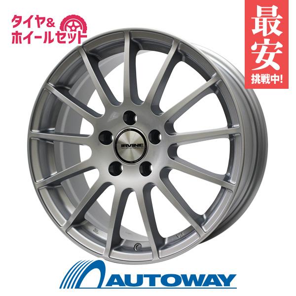 195/55R16 サマータイヤ タイヤホイールセット  weds IRVINE F01 16x6.5 +53 112x5 HS + HF805 【送料無料】 (195/55/16 195-55-16 195/55-16) 夏タイヤ 16インチ
