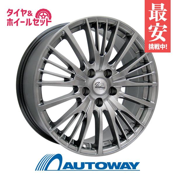 205/65R16 サマータイヤ タイヤホイールセット 【送料無料】 Verthandi YH-S25 16x6.5 45 114.3x5 METALLIC GRAY + NANKANG N-729.RWL 205/65R16 95H (205/65/16 205-65-16) 夏タイヤ 16インチ