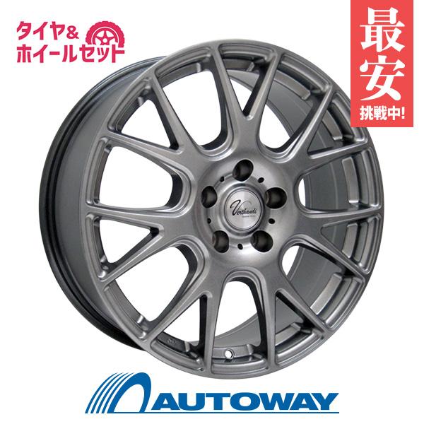 245/40R18 サマータイヤ タイヤホイールセット  Verthandi YH-M7 18x7.5 +48 114.3x5 METALLIC GRAY + NS-2R 【送料無料】 (245/40/18 245-40-18 245/40-18) 夏タイヤ 18インチ