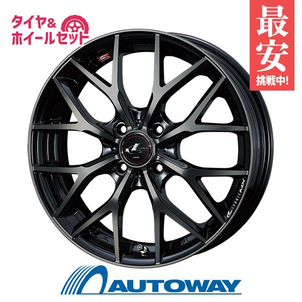 205/40R17 サマータイヤ タイヤホイールセット  LEONIS MX 17x6.5 +50 100x4 PBMC/TI + AR-1 【送料無料】 (205/40/17 205-40-17 205/40-17) 夏タイヤ 17インチ