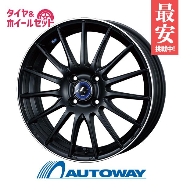205/40R17 サマータイヤ タイヤホイールセット  LEONIS NAVIA 05 17x6.5 +50 100x4 MBP + F205 【送料無料】 (205/40/17 205-40-17 205/40-17) 夏タイヤ 17インチ
