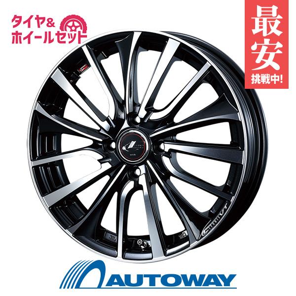 195/55R16 サマータイヤ タイヤホイールセット  LEONIS VT 16x6 +50 100x4 PBMC + F209 【送料無料】 (195/55/16 195-55-16 195/55-16) 夏タイヤ 16インチ