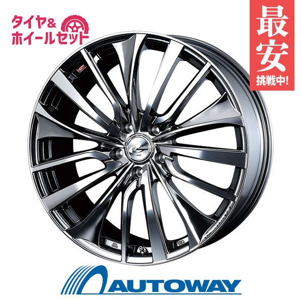 225/45R18 サマータイヤ タイヤホイールセット  LEONIS VT 18x7 +47 100x5 BMCMC + F205 【送料無料】 (225/45/18 225-45-18 225/45-18) 夏タイヤ 18インチ