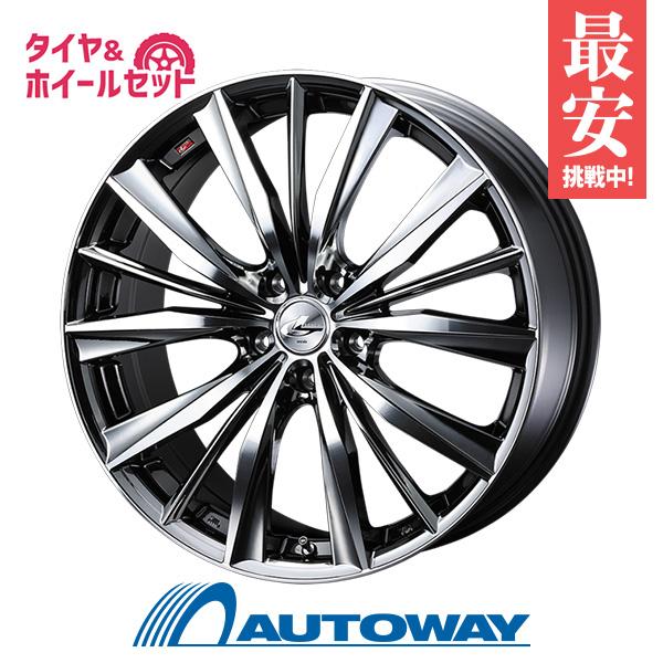 215/45R17 サマータイヤ タイヤホイールセット LEONIS VX 17x7 +47 114.3x5 BMCMC + HF805 【送料無料】 (215/45/17 215-45-17 215/45-17) 夏タイヤ 17インチ