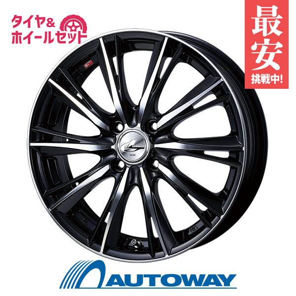 195/50R16 サマータイヤ タイヤホイールセット   LEONIS WX 16x6.0 42 100x4 BKMC + ATR SPORT2 195/50R16 84V  (195/50/16 195-50-16)  夏タイヤ 16インチ