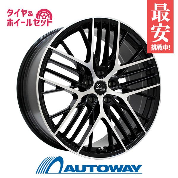 235/45R18 サマータイヤ タイヤホイールセット Verthandi YH-MS30 18x8 +40 114.3x5 BK/POLISH + HF805 【送料無料】 (235/45/18 235-45-18 235/45-18) 夏タイヤ 18インチ