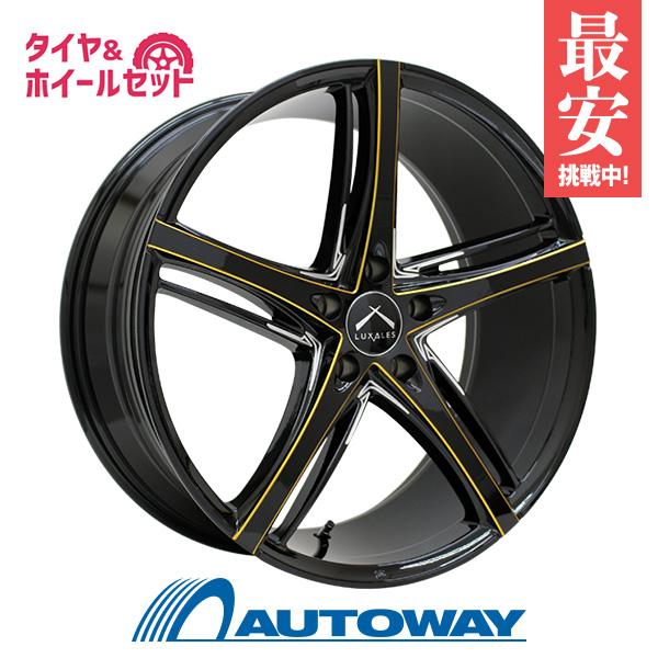 225/40R19 サマータイヤ タイヤホイールセット  LUXALES PW-V 19x8.5 +45 114.3x5 BK/G.MILLING + HF805 【送料無料】 (225/40/19 225-40-19 225/40-19) 夏タイヤ 19インチ
