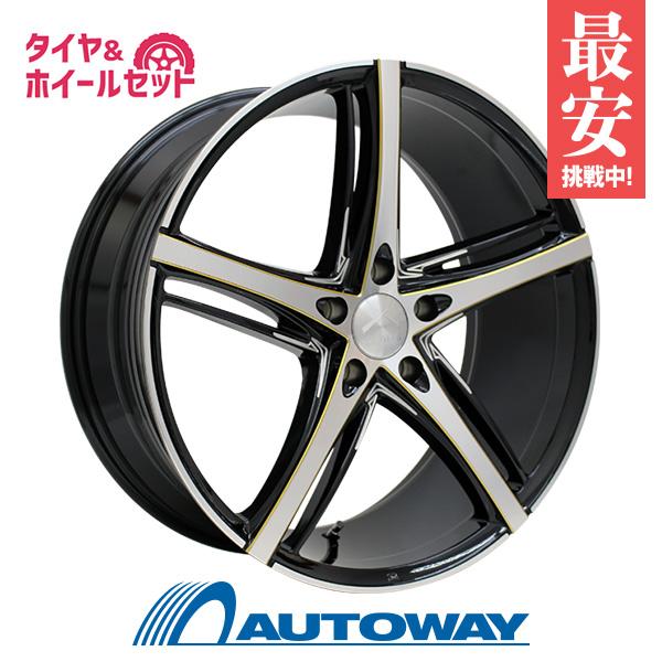 255/50R20 サマータイヤ タイヤホイールセット  LUXALES PW-V 20x8.5 +45 114.3x5 BK&P/G.MILLING + SP-9 【送料無料】 (255/50/20 255-50-20 255/50-20) 夏タイヤ 20インチ