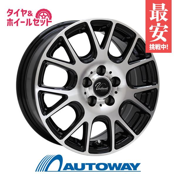 205/45R16 サマータイヤ タイヤホイールセット  Verthandi YH-M7 16x6.5 +50 114.3x5 BK/POLISH + HF805 【送料無料】 (205/45/16 205-45-16 205/45-16) 夏タイヤ 16インチ