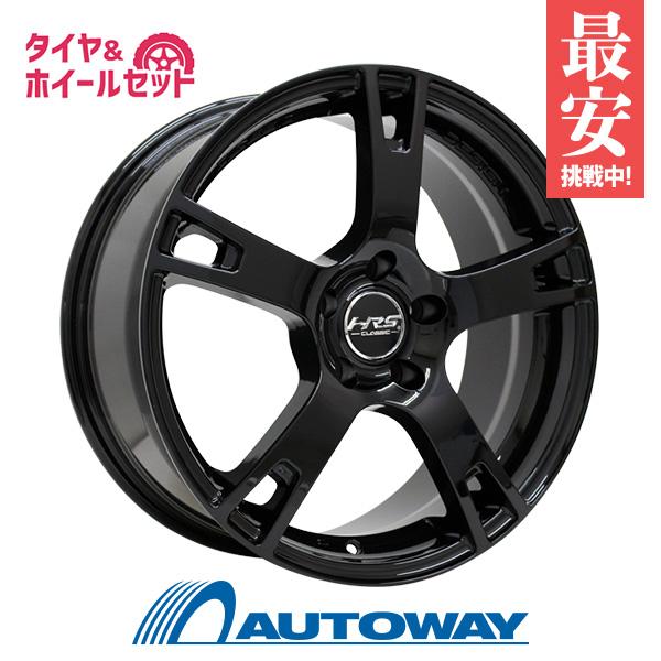 225/55R18 サマータイヤ タイヤホイールセット  HRS CLASSIC H-C21 18x8 +38 114.3x5 BK + Dimax AS-8 【送料無料】 (225/55/18 225-55-18 225/55-18) 夏タイヤ 18インチ