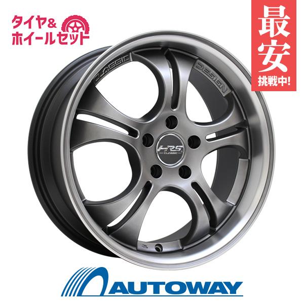 235/45R18 サマータイヤ タイヤホイールセット HRS CLASSIC H-C40 18x8 +45 114.3x5 DT/PJ + HF805 【送料無料】 (235/45/18 235-45-18 235/45-18) 夏タイヤ 18インチ