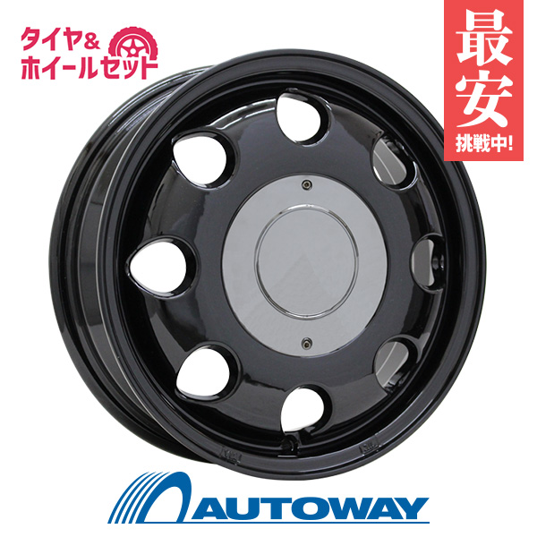 165/60R14 サマータイヤ タイヤホイールセット  LUMACA MODEL-2 14x4.5 45 100x4 BLACK + AS-1 【送料無料】 (165/60/14 165-60-14 165/60-14) 夏タイヤ 14インチ