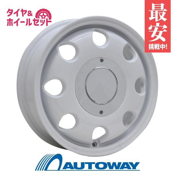 165/50R15 サマータイヤ タイヤホイールセット  LUMACA MODEL-2 15x4.5 +45 100x4 WHITE + HF805 【送料無料】 (165/50/15 165-50-15 165/50-15) 夏タイヤ 15インチ