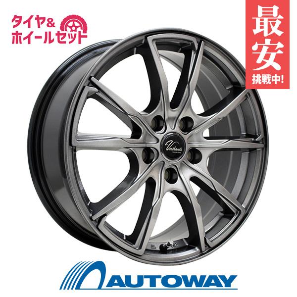 205/60R16 サマータイヤ タイヤホイールセット  Verthandi PW-S10 16x6.5 +48 100x5 METALLIC GRAY + NA-1 【送料無料】 (205/60/16 205-60-16 205/60-16) 夏タイヤ 16インチ
