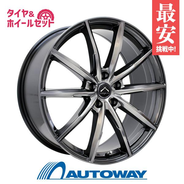 205/45R17 サマータイヤ タイヤホイールセット  LUXALES PW-X2 17x7 +48 100x5 TITANIUM GRAY + HF805 【送料無料】 (205/45/17 205-45-17 205/45-17) 夏タイヤ 17インチ