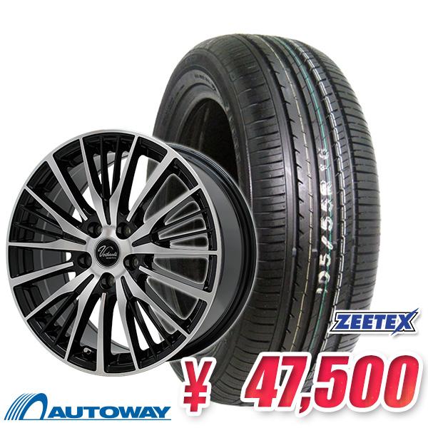 205/55R16 サマータイヤ タイヤホイールセット 【送料無料】 Verthandi YH-S25 16x6.5 45 100x5 BK/POLISH + ZEETEX ZT1000 205/55R16 91V (205/55/16 205-55-16) 夏タイヤ 16インチ