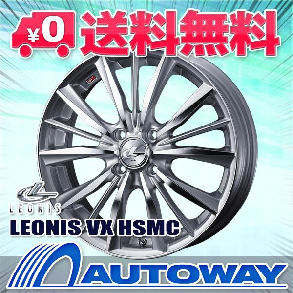 185/60R15 サマータイヤ タイヤホイールセット   LEONIS VX 15x6 +43 100x4 HSMC + CP672   (185/60/15 185-60-15 185/60-15)  夏タイヤ 15インチ