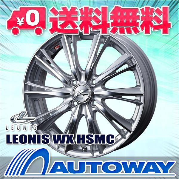 185/70R14 サマータイヤ タイヤホイールセット   LEONIS WX 14x5.5 +40 100x4 HSMC + ATR SPORT 122   (185/70/14 185-70-14 185/70-14)  夏タイヤ 14インチ