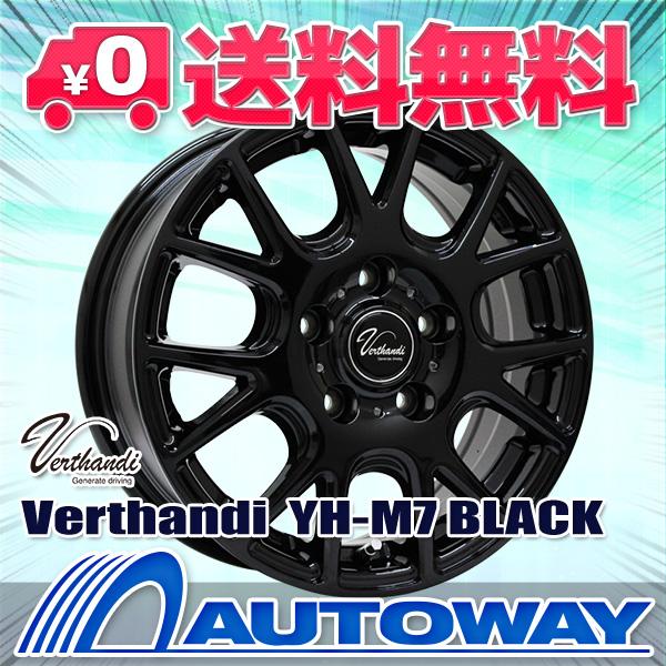 195/65R15 サマータイヤ タイヤホイールセット  Verthandi YH-M7 15x6 +50 114.3x5 BLACK + 209 【送料無料】 (195/65/15 195-65-15 195/65-15) 夏タイヤ 15インチ