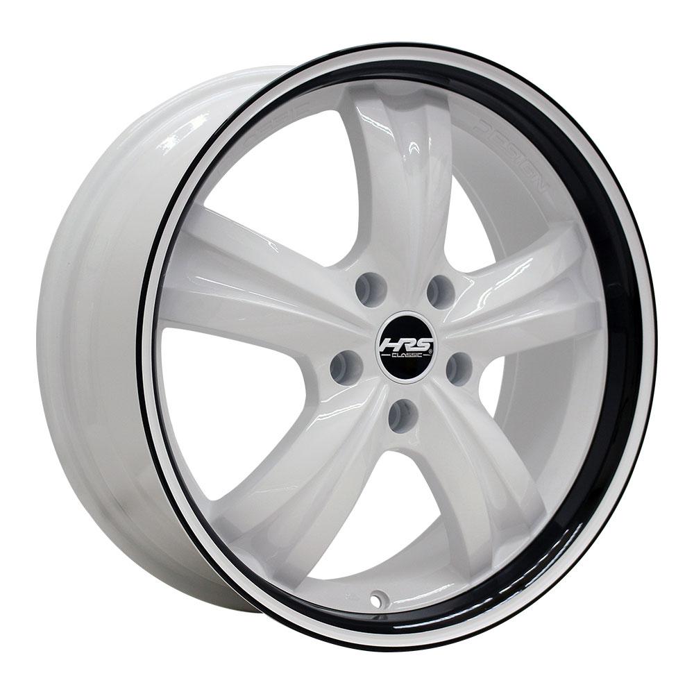 225/55R18 サマータイヤ タイヤホイールセット   HRS CLASSIC H-C46 18x7.5 +35 114.3x5 W-OJBK/PJ + SU1000 vfm   (225/55/18 225-55-18 225/55-18)  夏タイヤ 18インチ