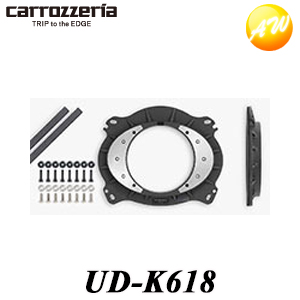 チープ UD-K618 Carrozzeria カロッツェリア コンビニ受取不可 特価 パイオニア高音質-インナーバッフルプロフェッショナルパッケージトヨタ車用