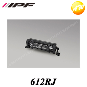 612RJ ライトバー600シリーズ 雷神 (ダブルロー) 10 インチ IPF/アイピーエフ コンビニ受取不可