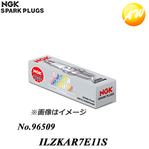 NGK 96509 ILZKAR7E11S Laser Iridium Spark Plug Pack of 4