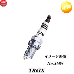 TR6IX-3689 燃費も加速もアップする高性能プラグNGK スパークプラグ イリジウムIX NGK 高級な イリジウムIXプラグ 日本全国 送料無料 コンビニ受取不可 一体型 米国車用 ゆうパケット発送