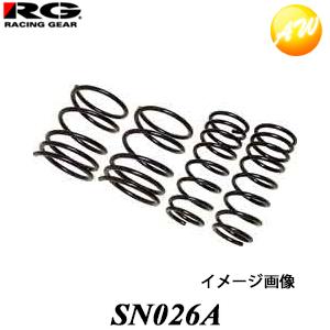 【SN026A】 ステージア NM35 RG レーシングギア Racing gear ダウンサス ローフォルム・レボリューション【コンビニ受取不可】