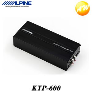 KTP-600 小型デジタルパワーアンプ アルパイン ケーブル同梱 ハイレベルインプット KTP-600 小型デジタルパワーアンプ アルパイン ケーブル同梱 ハイレベルインプット