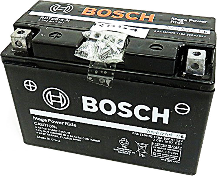 GT9B-4 FT9B-4 ボッシュ 1年2万キロ保証 2輪車用シールドバッテリー メガパワーライド RBT9B-4-N バイク用バッテリー 互換
