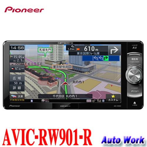 カロッツェリア 楽NAVI AVIC-RW901-R7V型 VGAモニター 200mmワイドAV一体型メモリーナビ