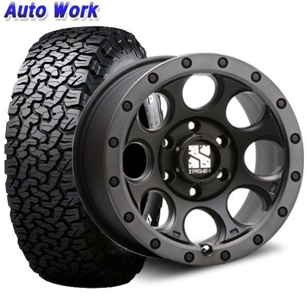 新品タイヤ 4本セットMLJ XTREME-J XJ03 7.0J-16 +35 5H 114.3 BF グッドリッチ LT225/70R16 102/99R LRC RWL