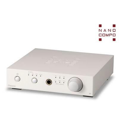 NANO-D1[プラチナホワイト] Olasonic(オラソニック) USB-DAC内蔵ヘッドホンアンプ
