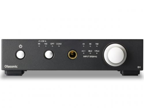 NANO-D1[B:シルキーブラック] Olasonic(オラソニック) USB-DAC内蔵ヘッドホンアンプ