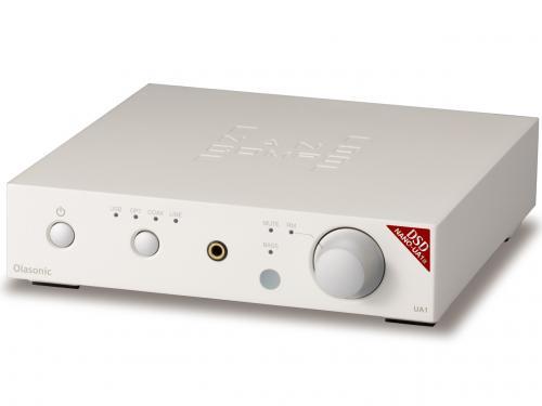 NANO-UA1a[プラチナホワイト] Olasonic(オラソニック) USB DAC内蔵プリメインアンプ