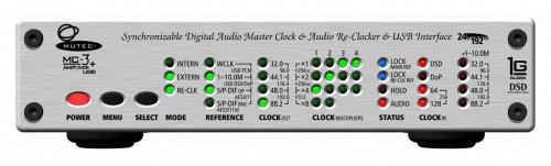 MC-3+USB [アルミニウム] MUTEC[ミューテック]  USB デジタルオーディオ・マスタークロックジェネレーター