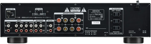 PMA-390RE[K:ブラック] DENON(デノン) プリメインアンプ