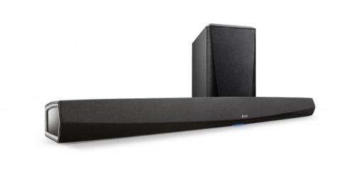 HEOS HomeCinema DENON [デノン] 4K Ultra HD対応ワイヤレスサブウーハー付きサウンドバー ※4月下旬発売予定