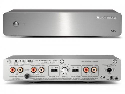 CP2 [SLV:シルバー] Cambridge Audio [ケンブリッジオーディオ] MM/MCフォノイコライザー